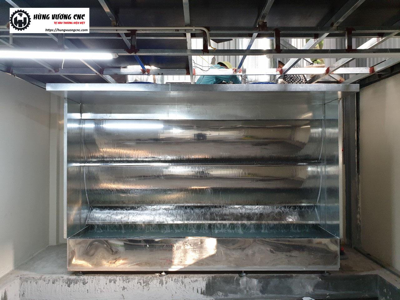 Buồng sơn màng nước - Hùng Vương CNC